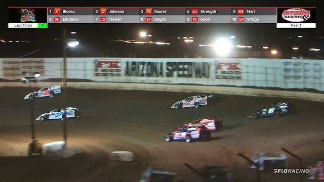 Wild West Shootout Modified Heats Arizona Speedway 1/13/21