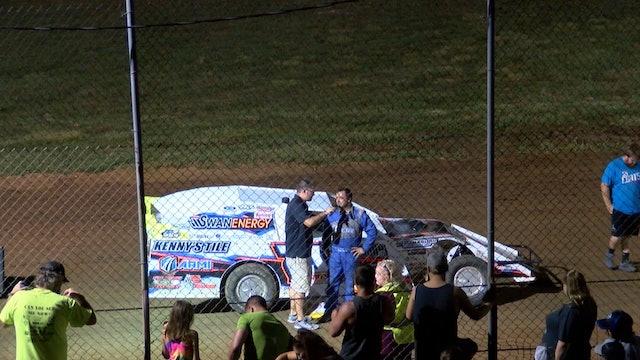 USMTS Rodney Sanders Monett Speedway Post Race Interview 8/4/19