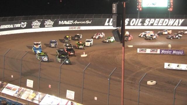 USRA Modifieds Lucas Oil Speedway A Main 4/11/14