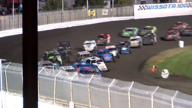 Wissota 100 Midwest Modified A-Main Dakota State Fair Speedway 9/16/16