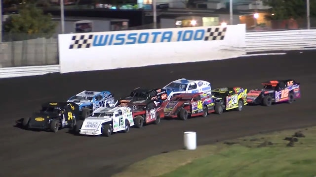 Wissota 100 Modified Heats Dakota State Fair Speedway 9/16/16