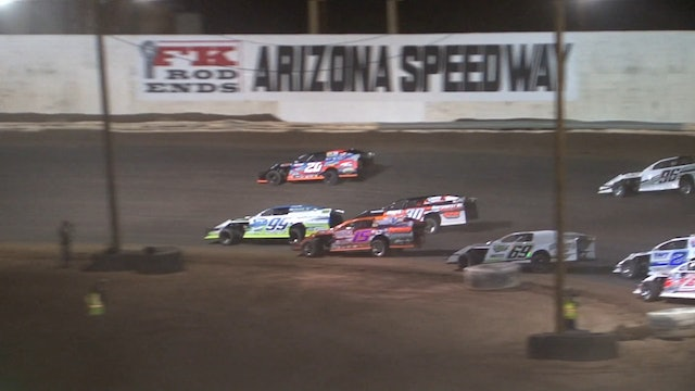 Wild West Shotout USRA Modified A-Main @ Arizona Speedway 1/6/18