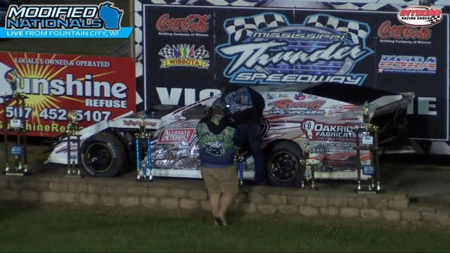 USRA Modified Nationals A-Main Mississippi Thunder Speedway 9/7/17