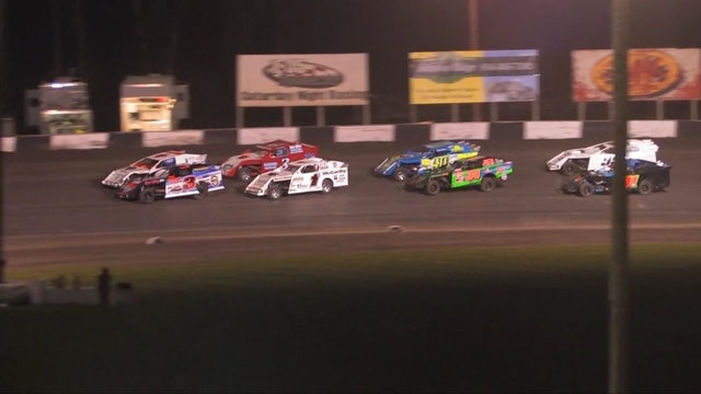 USRA Modifieds @ Lakeside Speedway Feature Highlights 06/07/13