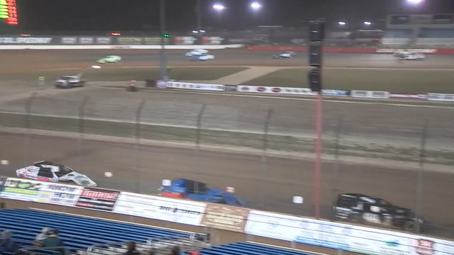Clash of Champions USRA B-Mod A-Main Lucas Oil Speedway 10/13/19