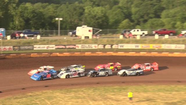 Late Model Heats Masters Cedar Lake Speedway 6/17/21