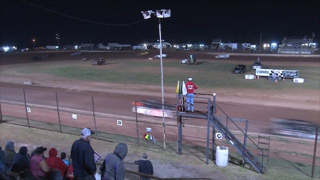Usra Modified A Main At Lawton Speedw...