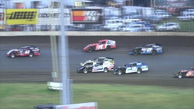 B-Mod Heats at Salina Highbanks Speedway 8-18-18