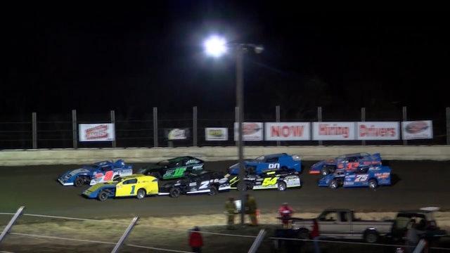 NASCAR Modified Heats Humboldt Speedway 3/1/18