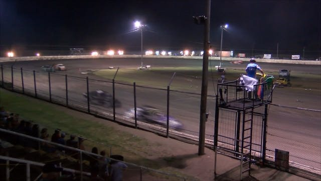 B Mod A-Main at Caney Valley Speedway...
