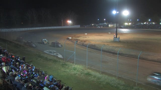 USMTS Ark-La-Tex Speedway Heats 2/27/16