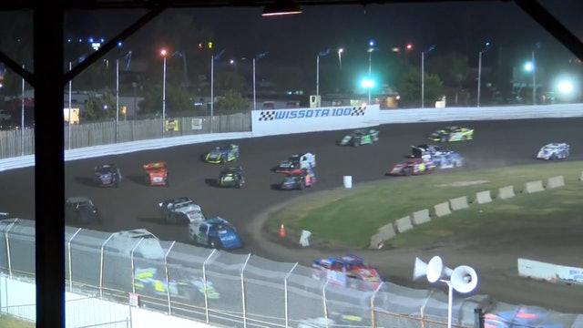 Wissota 100 Modified A-Main Dakota State Fair Speedway 9/14/16