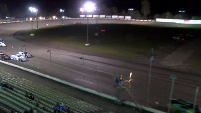 USRA Modifieds Heats Lakeside 10/13/16