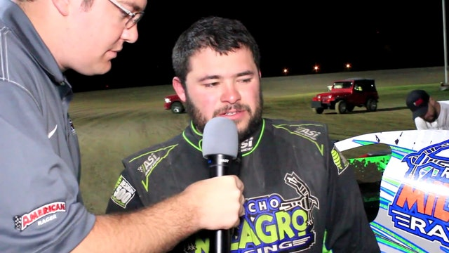 USMTS Post Race Interviews Southern Oklahoma Speedway 3/9/17