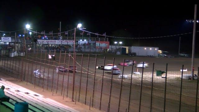 USRA Stock Car Heats I-35 Speedway 10...