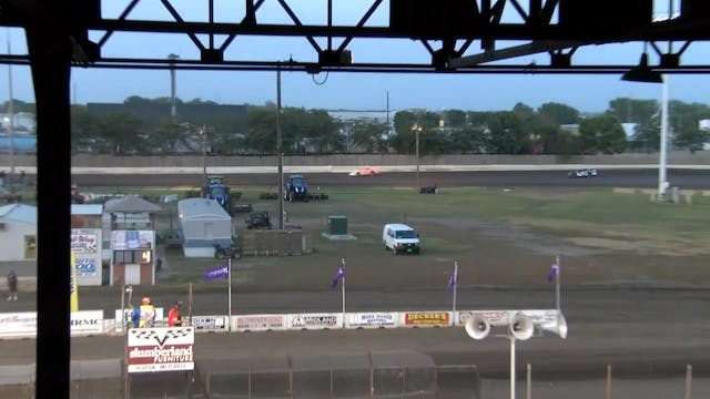 Wissota 100 Late Model Heats 9/13/17