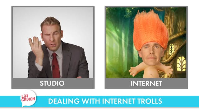 Life Crunch Snack - Internet Trolls