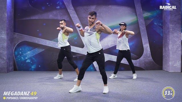 15' MEGADANZ ® Choreography #49