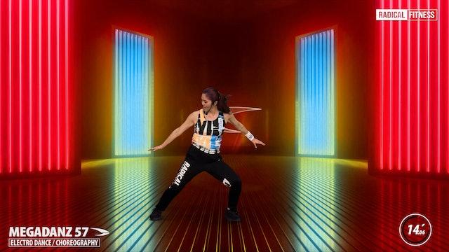 15' MEGADANZ ® Choreography #57