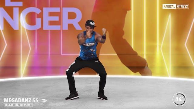 15' MEGADANZ ® Choreography #55