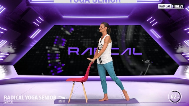 5' Yoga / Standing with chair #3F