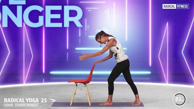 5' Yoga / Standing with chair #5D