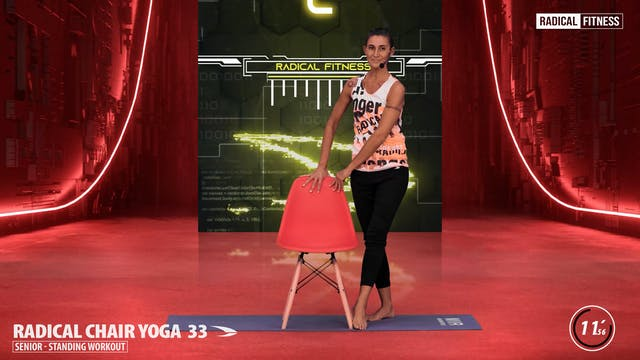 15' Yoga / Standing with chair #6DEF