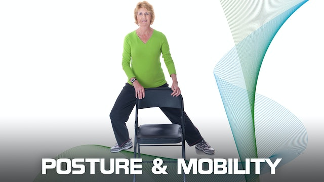 15' Chair Yoga / Mobility and Posture