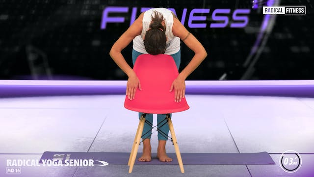 5' Yoga / Standing with chair #3D