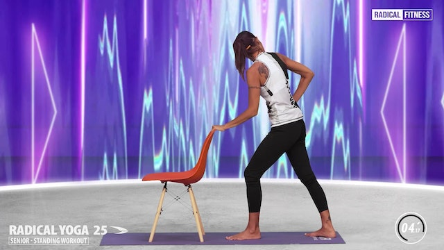 15' Yoga / Standing with chair #5DEF