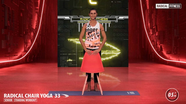 5' Yoga / Standing with chair #6F
