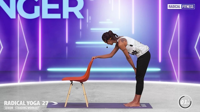 5' Yoga / Standing with chair #5F
