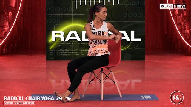 15' Yoga / Senior sitting with chair #6ABC
