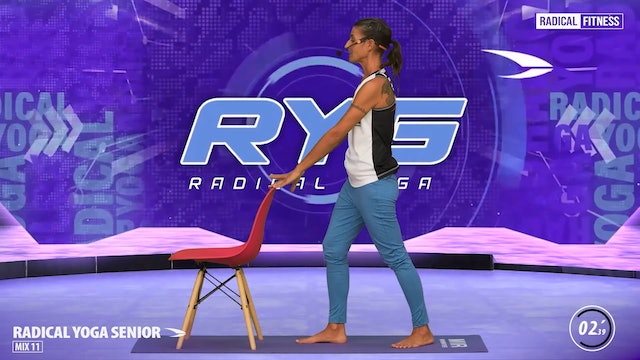 5' Yoga / Standing with chair #2E
