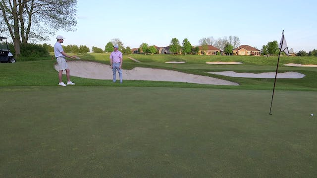 Lesson Short Sided Shot from Rough