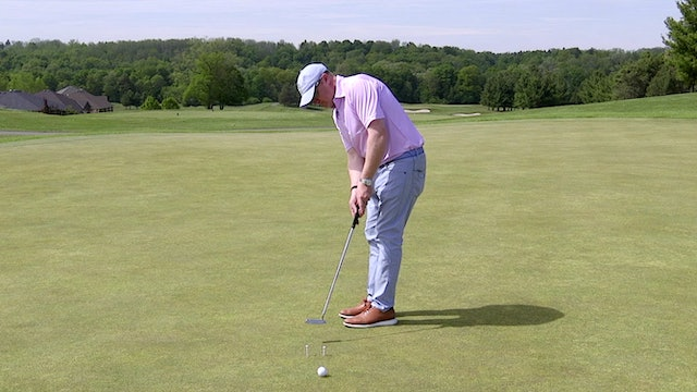 Putting Two Tee Drill