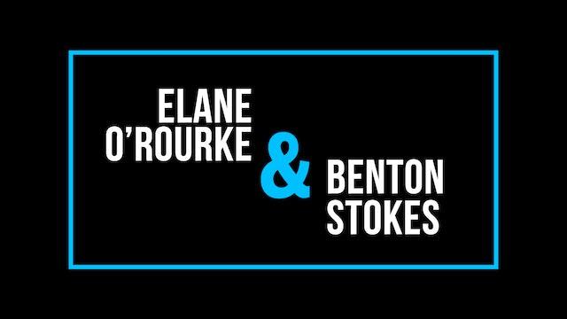Elane O'Rourke and Benton Stokes
