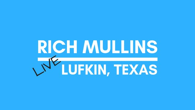 Rich Mullins: Live from Lufkin, Texas