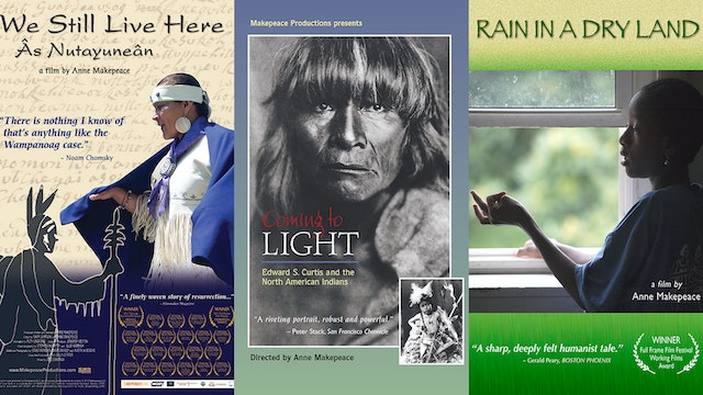3 Titles: We Still Live Here · Coming to Light · Rain in a Dry Land