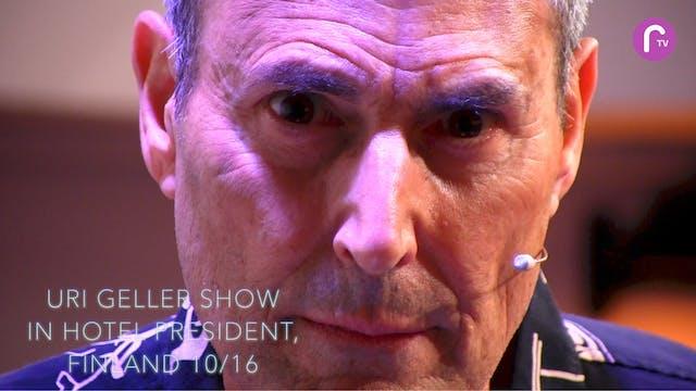 RTV presents: Uri- show in hotel President