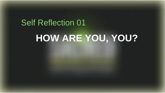 Reflection 1: The Miracle of YOU!