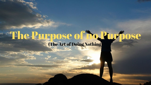The Purpose of no Purpose