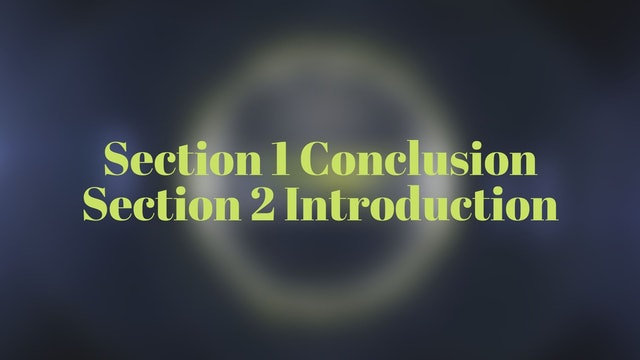 Section 1 Conclusion Section 2 Introduction