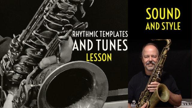 Rhythm Templates and Tunes