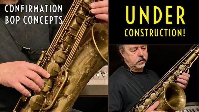 Confirmation Bop Concepts - Under Construction!