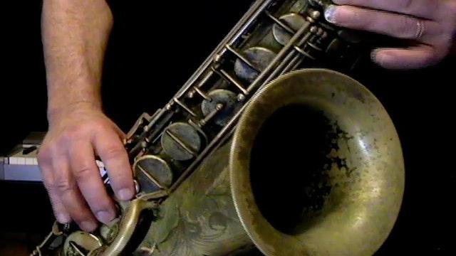 Lesson 6 Jammin'! - Tenor Sax