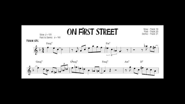 On First Street - Advanced Level Bop Etudes