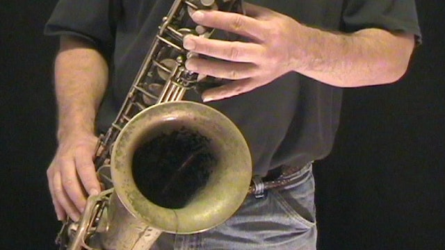 Lesson 3 - Beginning Saxophone