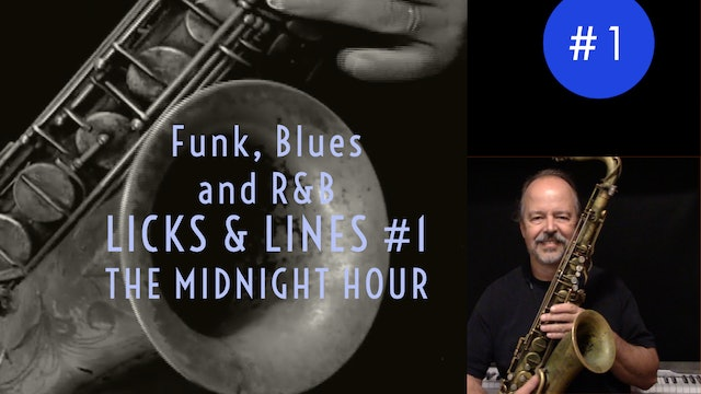 Funk, Blues, and R&B Licks & Lines #1, The Midnight Hour
