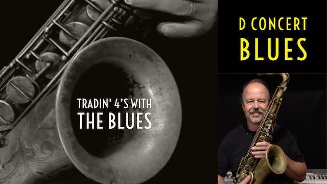 Tradin' 4's in D Blues